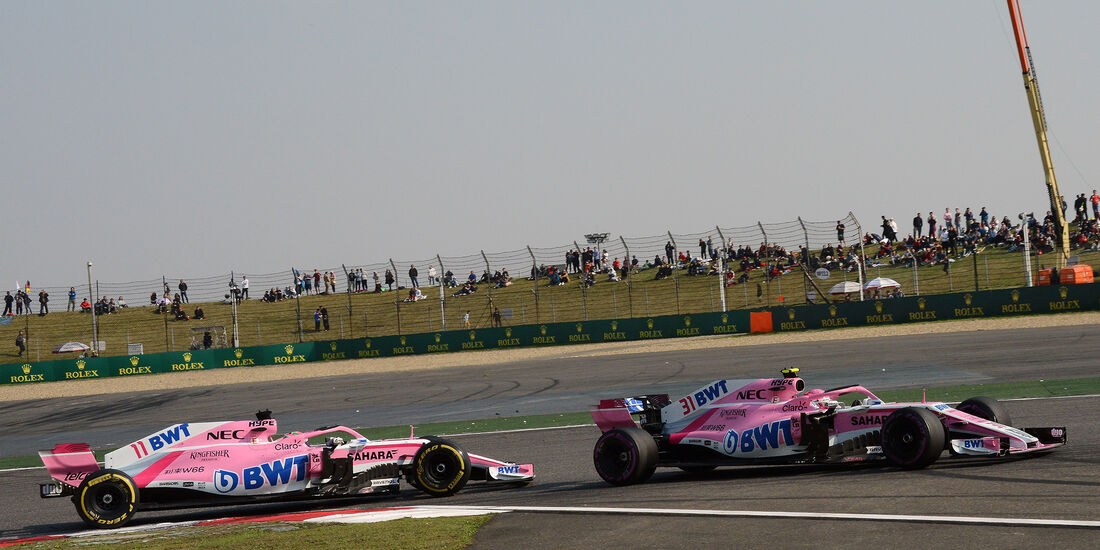 Force India - Formel 1 - GP China 2018