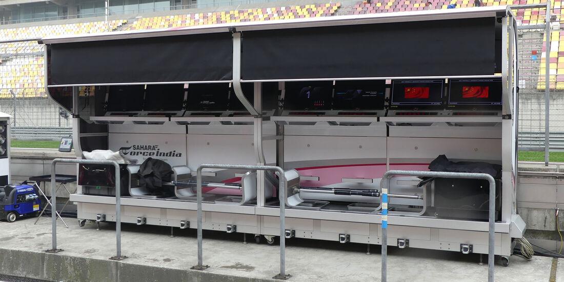 Force India - Formel 1 - GP China - Shanghai - 6.4.2017