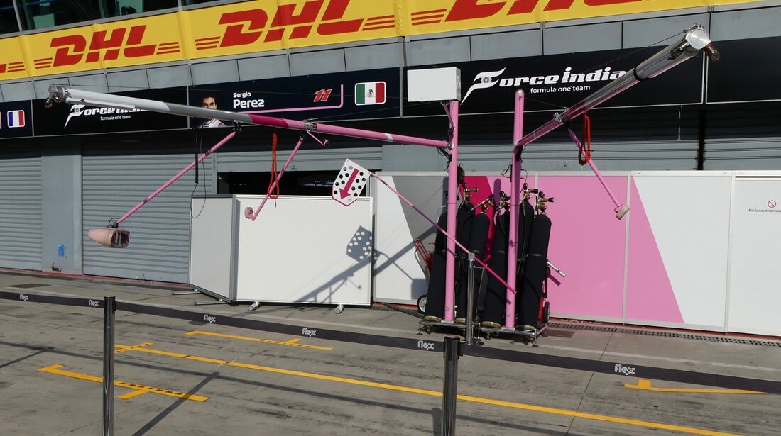Force India - Formel 1 - GP Italien - 29. August 2018