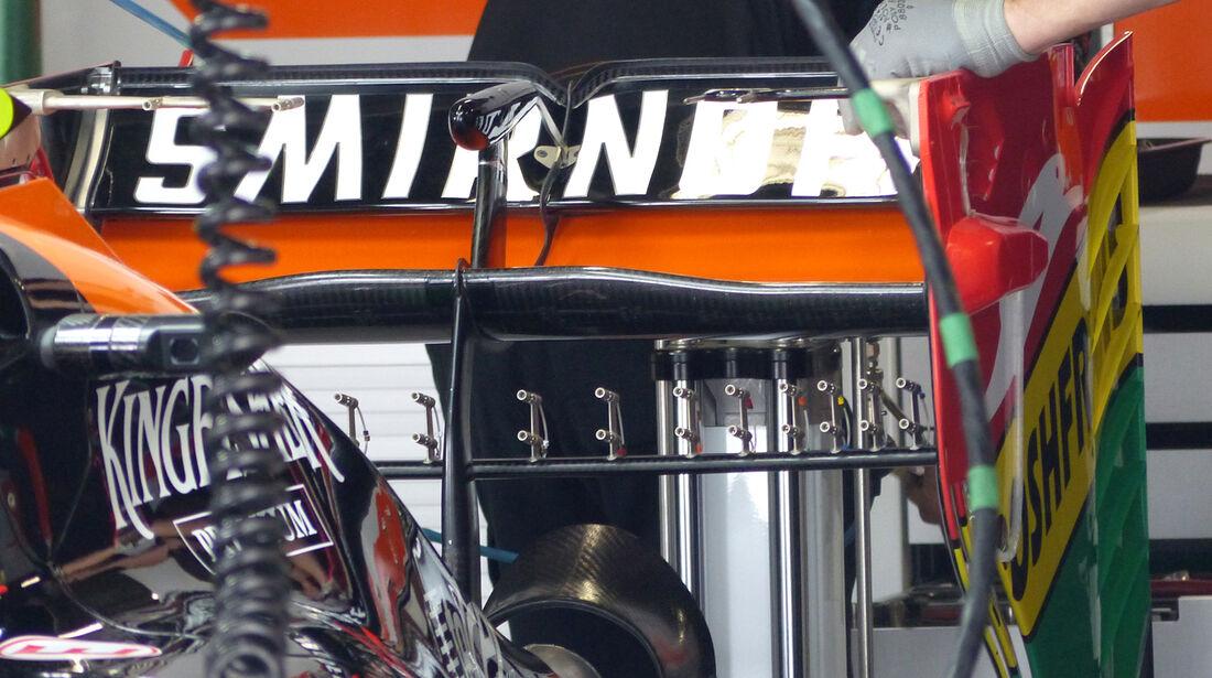 Force India - Formel 1 - GP Japan - 3. Oktober 2014