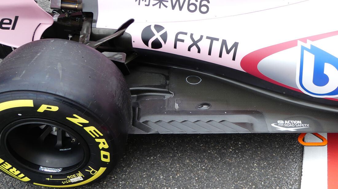 Force India - Formel 1 - GP Japan - Suzuka - 5. Oktober 2017