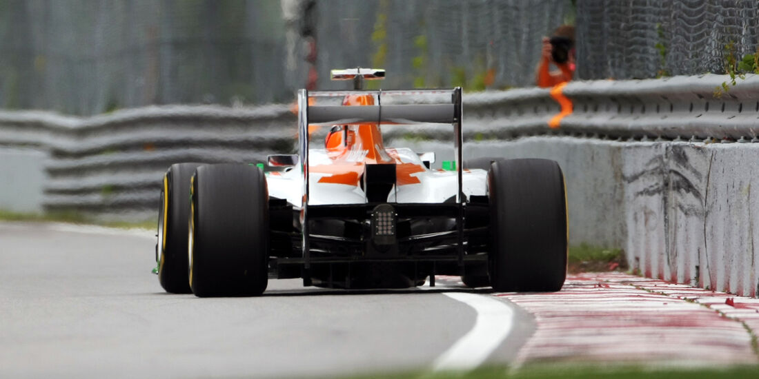 Force India Formel 1 GP Kanada 2012