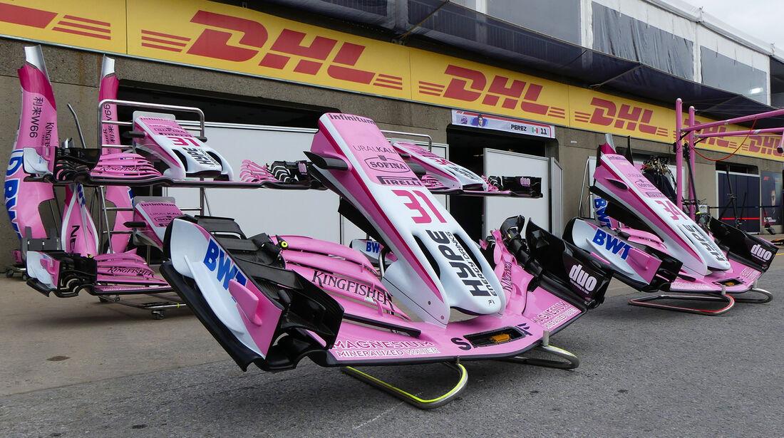 Force India - Formel 1 - GP Kanada - Montreal - 6. Juni 2018