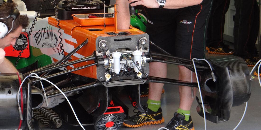 Force India - Formel 1 - GP Malaysia - 22. März 2013