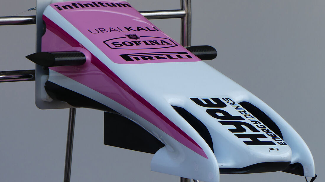 Force India - Formel 1 - GP Mexiko - 24. Oktober 2018