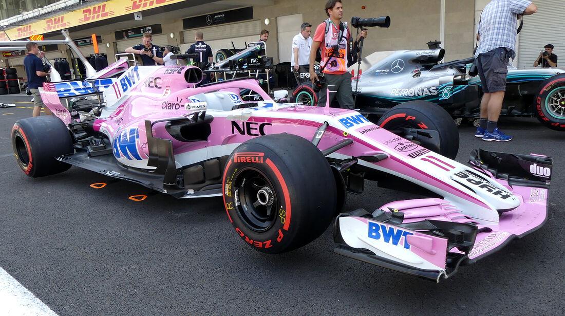 Force India - Formel 1 - GP Mexiko - 25. Oktober 2018