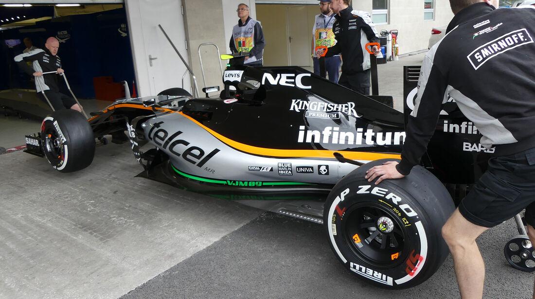 Force India - Formel 1 - GP Mexiko - 27. Oktober 2016