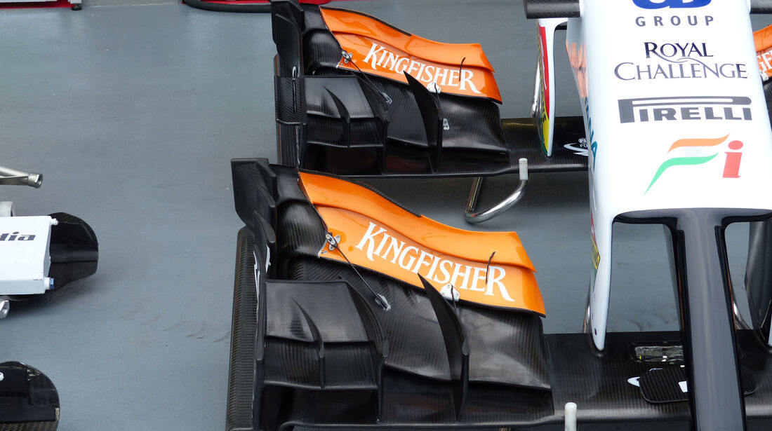 Force India - Formel 1 - GP Singapur - 18. September 2014