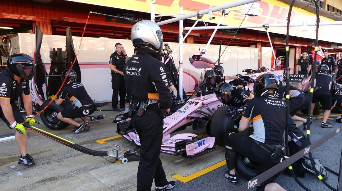 Force India - Formel 1 - GP Spanien - 11. Mai 2017