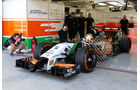 Force India - Formel 1 Test - Bahrain - 2014