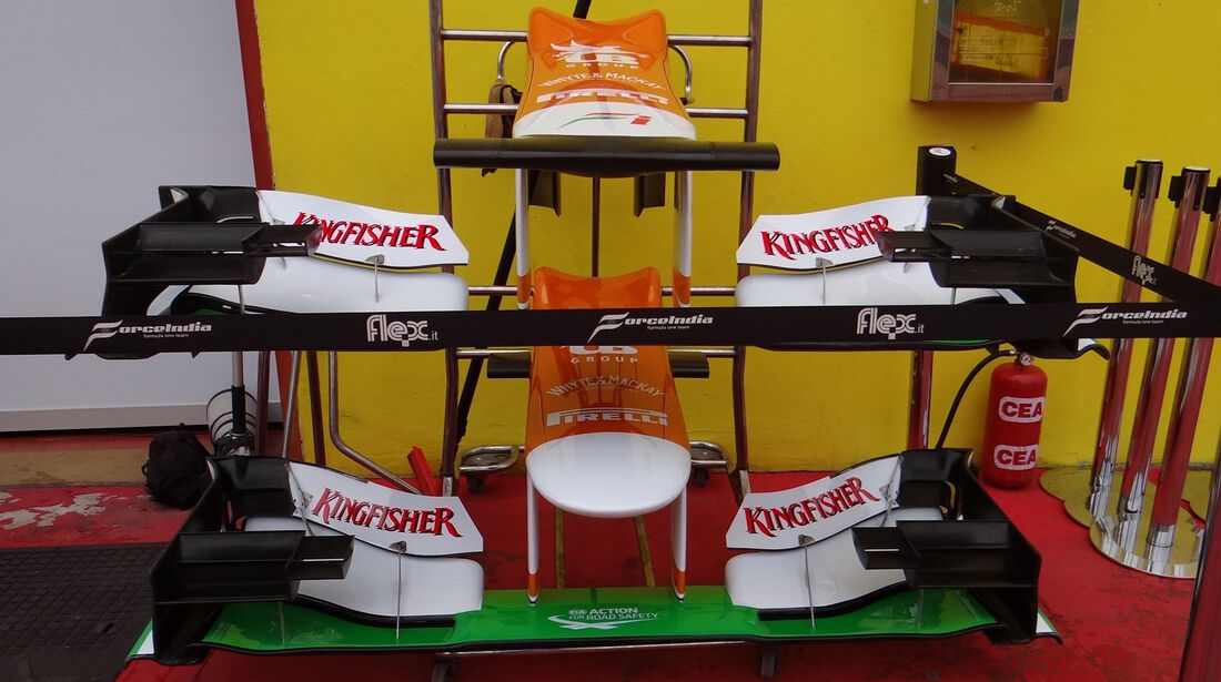 Force India - Formel 1-Test - Mugello - 1. Mai 2012