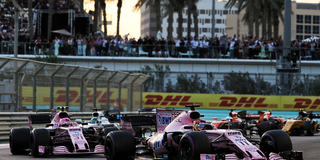 Force India - GP Abu Dhabi 2017