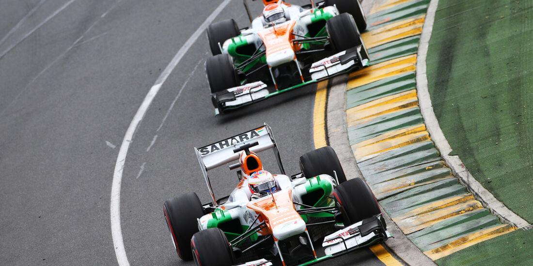 Force India GP Australien 2013