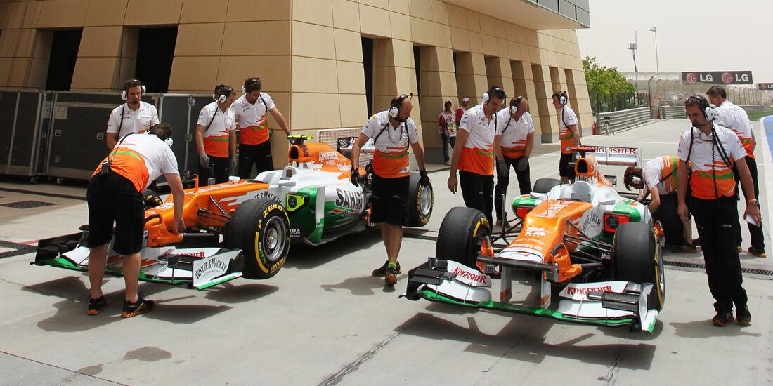 Force India GP Bahrain 2012
