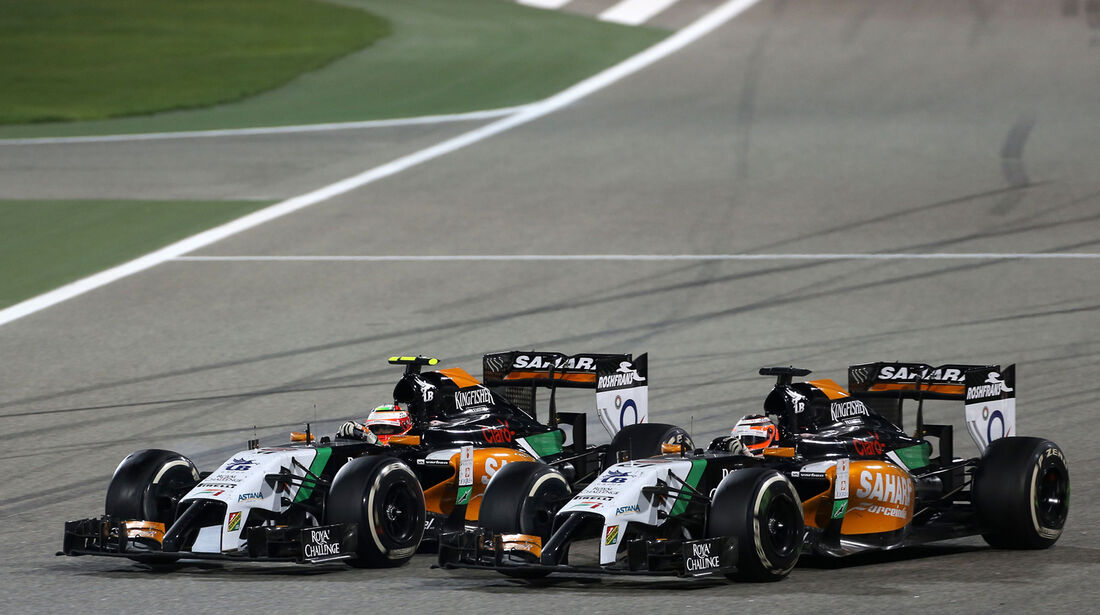 Force India - GP Bahrain 2014
