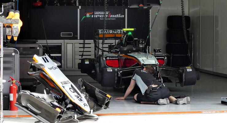 Force India - GP China - Shanghai - Freitag - 15.4.2016