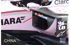 Force India - GP China - Technik - Formel 1 - 2017