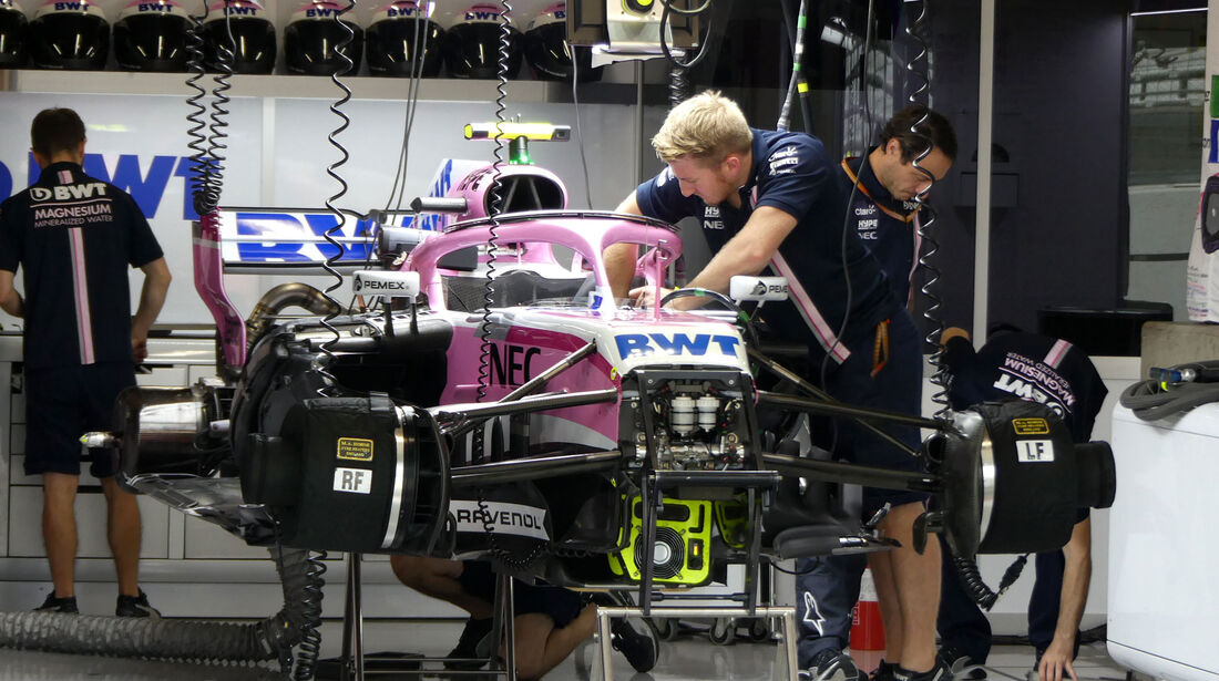 Force India - GP Japan - Suzuka - Formel 1 - Freitag - 5.10.2018