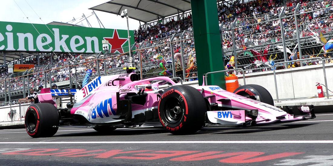 Force India - GP Mexiko - 2018