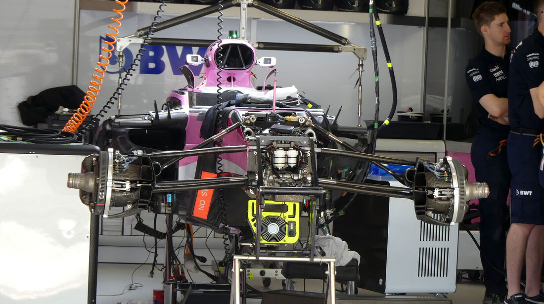Force India - GP Russland - Sotschi - Formel 1 - Donnerstag - 27.9.2018