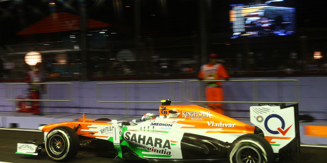 Force India - GP Singapur 2013