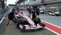 Force India - GP Singapur - Formel 1 - Donnerstag - 14.9.2017