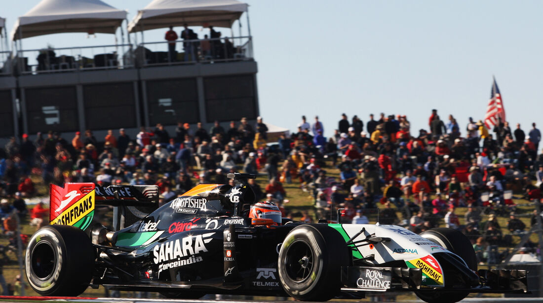 Force India - GP USA 2014