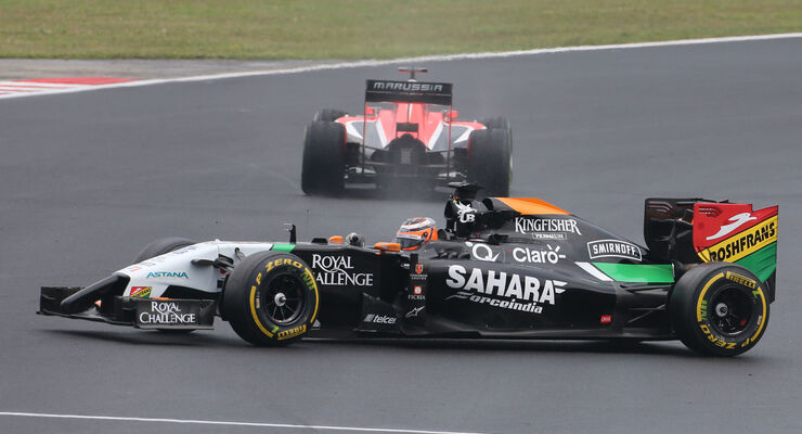 Force India - GP Ungarn 2014