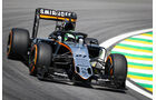 Force India - Halo-Test - Formel 1 - 2016