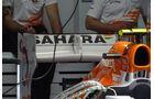 Force India Heckflügel - Formel 1 - GP Deutschland - 20. Juli 2012