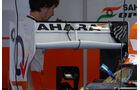 Force India Heckflügel - Formel 1 - GP England - 27. Juni 2013