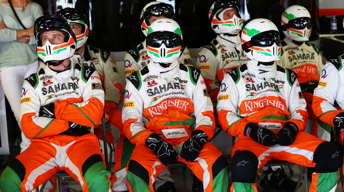 Force India Mechaniker