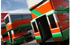 Force India-Motorhome