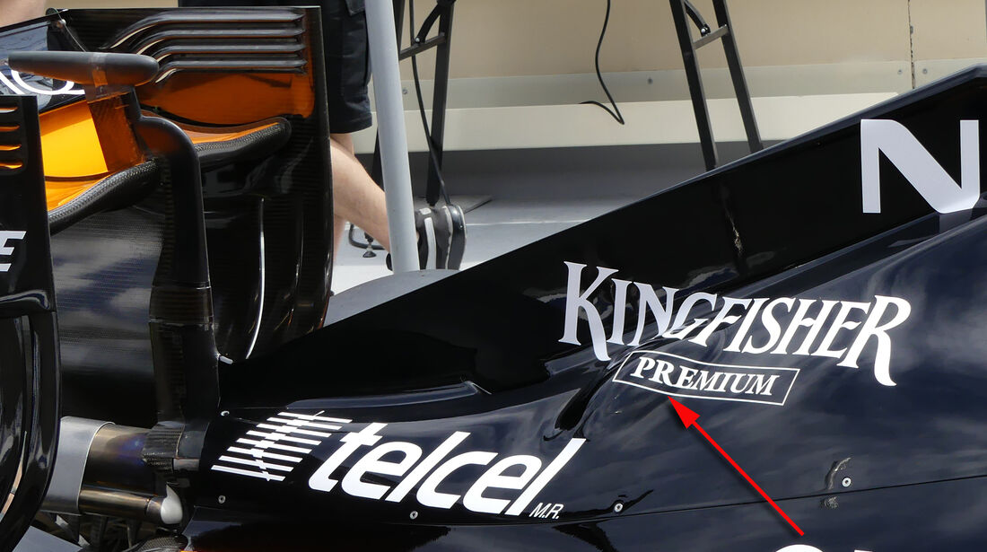 Force India - Technik - Formel 1 - GP Kanada / Aserbaidschan 2016