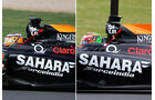 Force India - Technik - GP England 2014