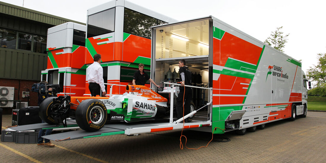 Force India Truck