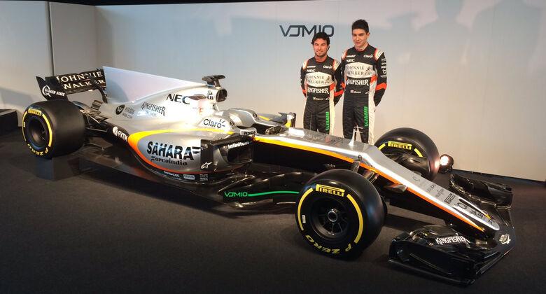 Force India VJM01 - F1 - 2017