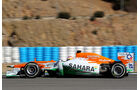 Force India VJM05 Formel 1 Jerez 2012