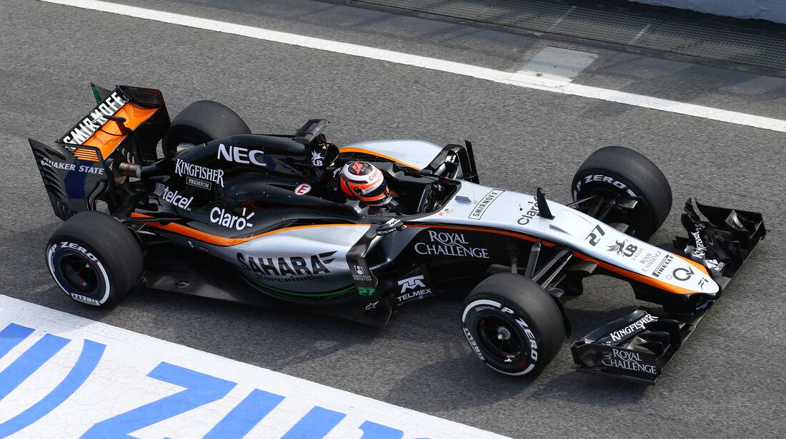 Force India VJM08 - Barcelona Test - 27. Februar 2015