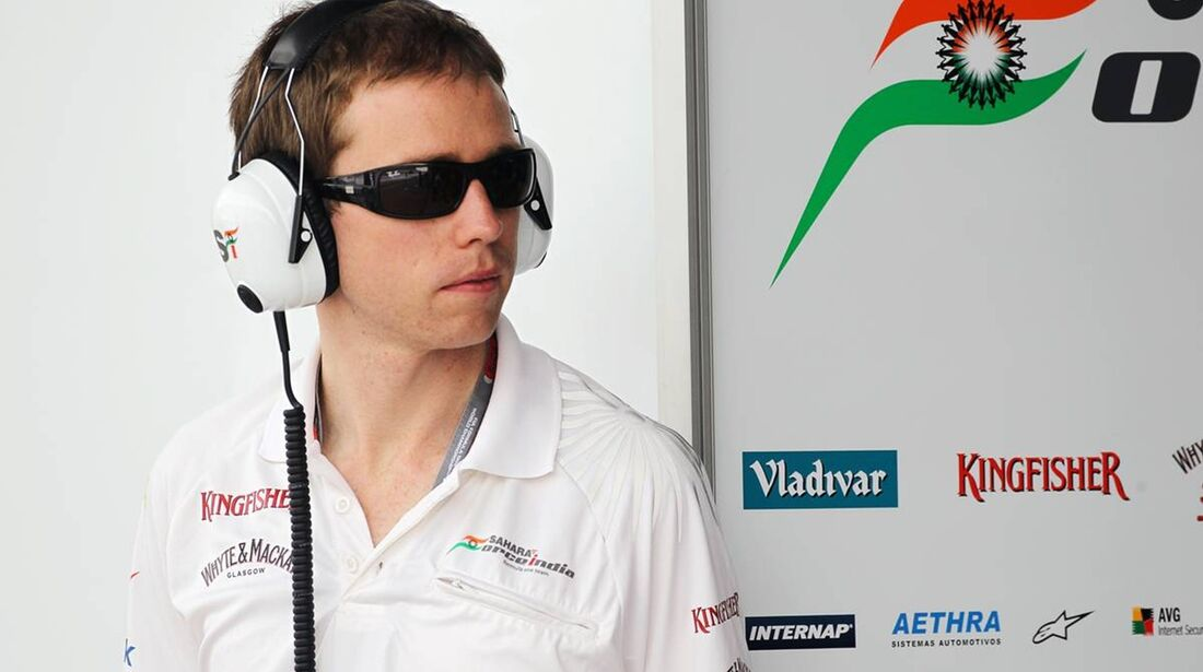 Force India Will Hings - Formel 1 - GP Bahrain - 20. April 2012