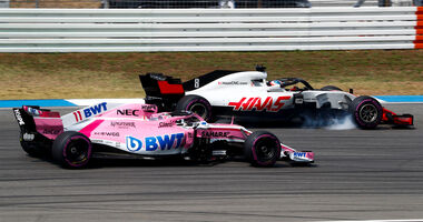 Force India vs. Haas - F1 2018
