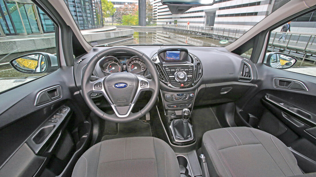 Ford B-Max 1.6 TDCi, Cockpit