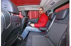 Ford B-Max 1.6 TDCi, Rücksitz, Beinfreiheit