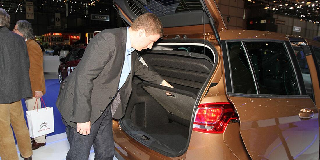 Ford B-Max Autosalon Genf 2012 Sitzprobe