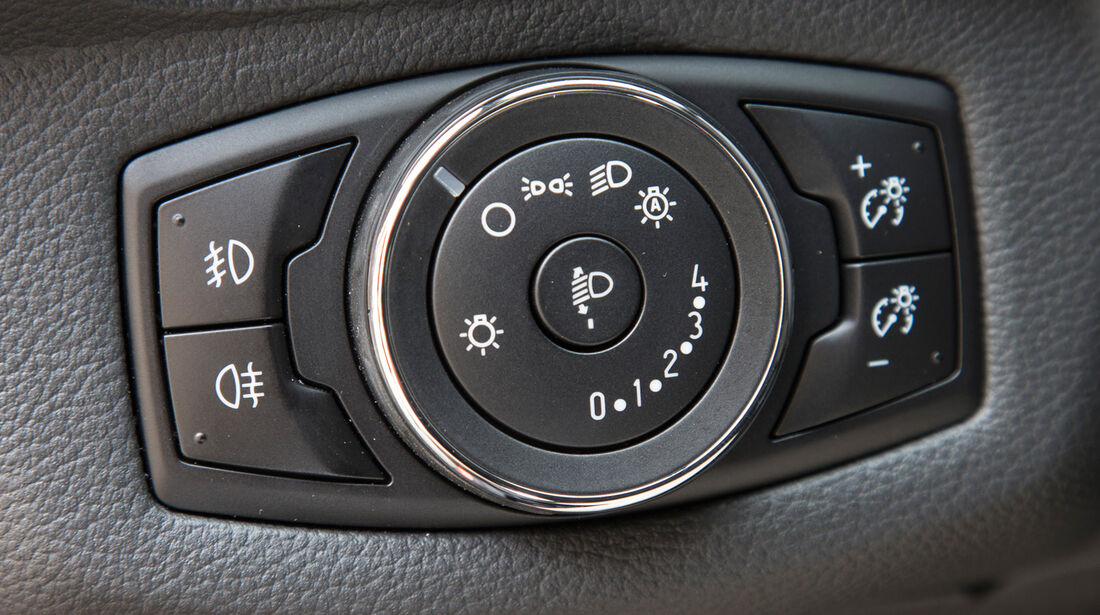 Ford B-Max, Bedienelement