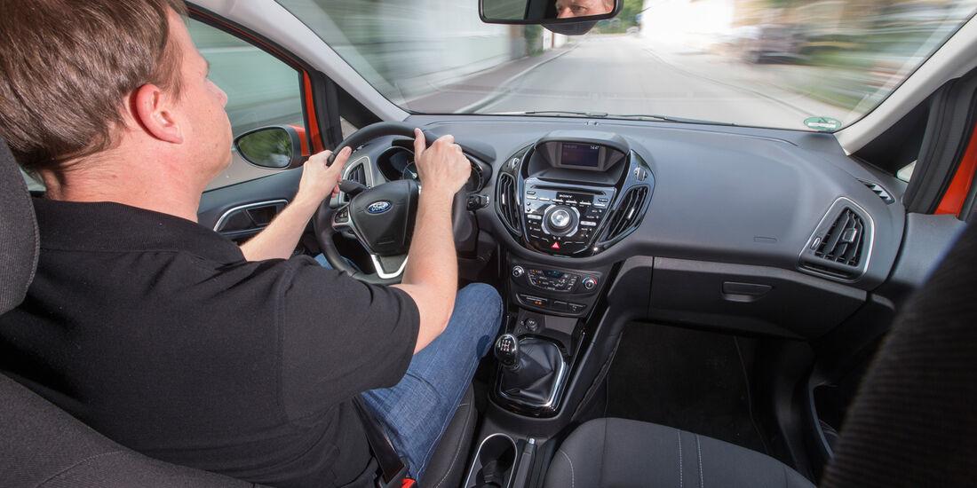 Ford B-Max, Cockpit