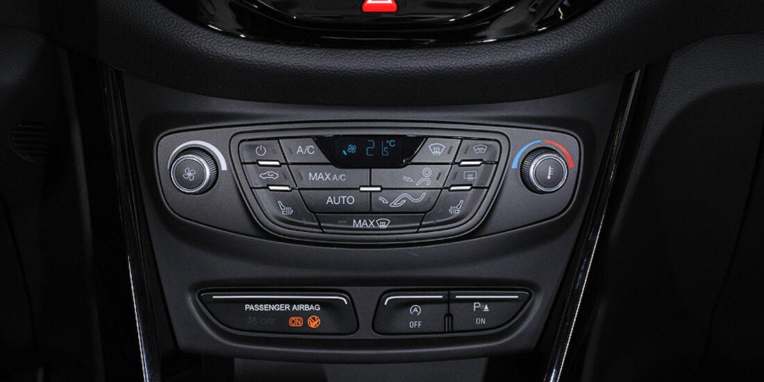 Ford B-Max, Klimaanlage