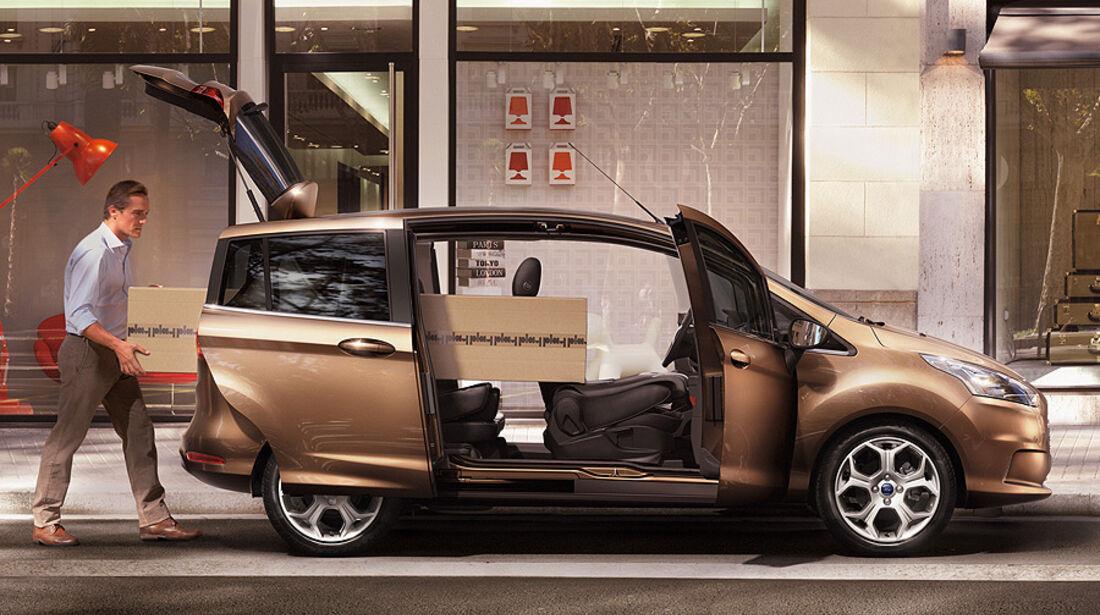 Ford B-Max, Schiebetüren