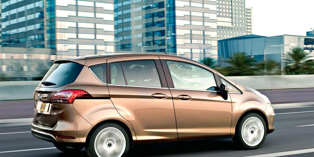 Ford B-Max, Seitenansicht