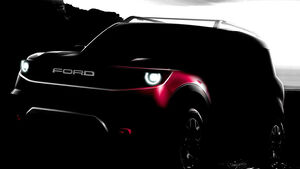 Ford Bronco Teaser